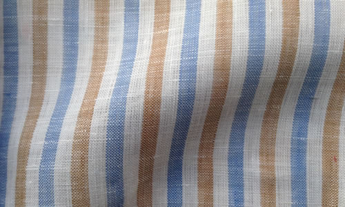 Blue Brown Stripes