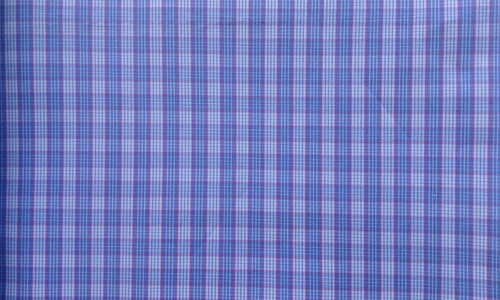 Bright Blue Checkered