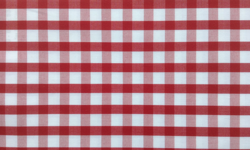 Dark Red Gingham