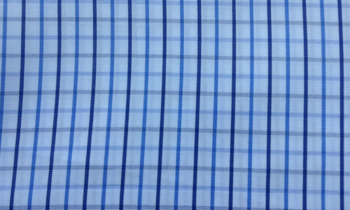 Thin Blue Checkered